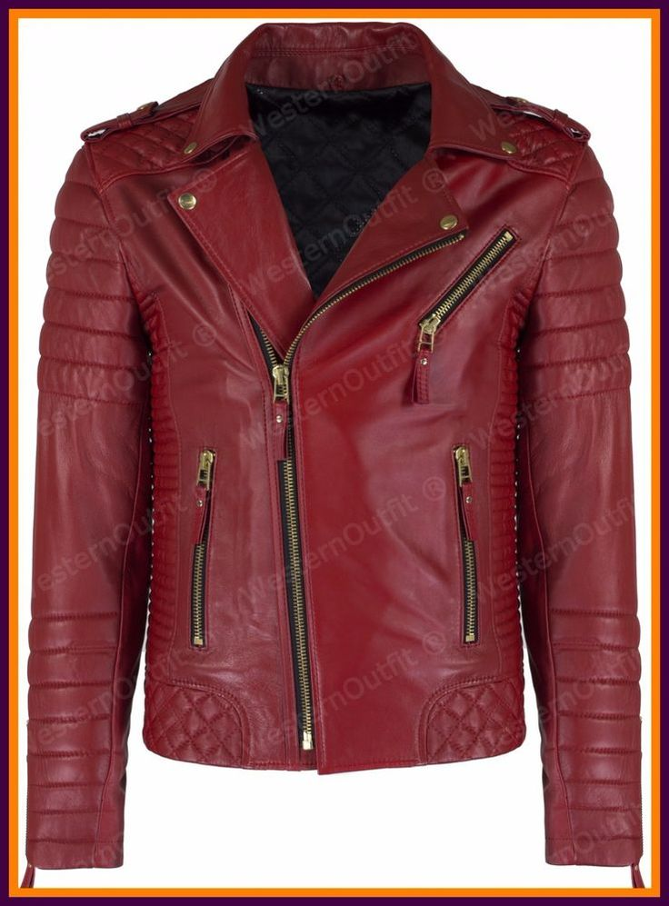 Men's Celebrity Genuine Lambskin Mens Stylish Rider Jacket slim fit Biker A09 #AriesLeathers #Motorcycle