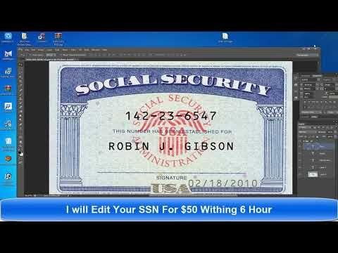 Social Security Card Template Psd Only 25 Social Security Card Card Template Id Card Template