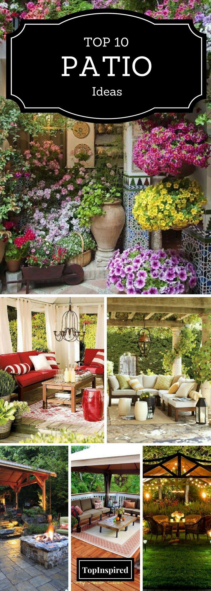 Patio Design Best 10 Patio Design Ideas On Pinterest Backyard Patio Designs