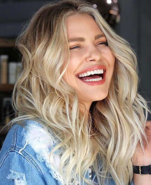 Blissful Medium Blonde Hairstyles 2020 for Girls and Women to Improve Your Beauty