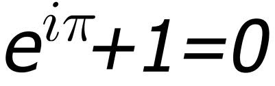 Euler's Theorem - unbelievable that these special numbers can be related in this simple way.