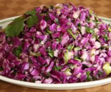 Red Cabbage, Pear and Coriander Salad | Official Thermomix Recipe Community