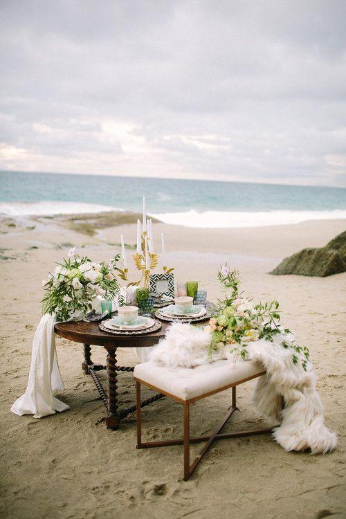 Laguna Beach Engagement Shoot designed by Kaleb Norman James