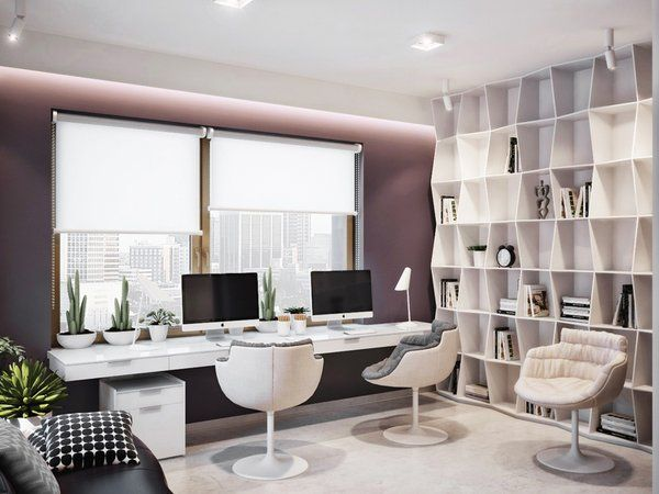 Best Contemporary Home Offices Ideas On Pinterest White Desk