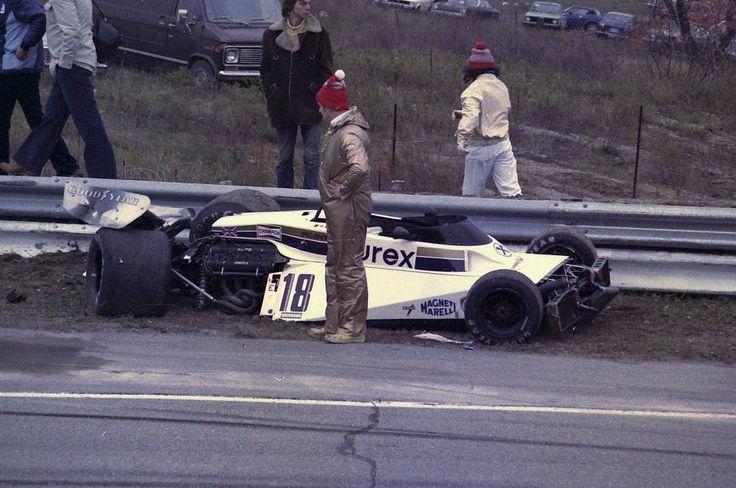 Hans Binder's Surtees TS19 - Cosworth V8. 1977 Canadian Grand Prix, Mosport Park