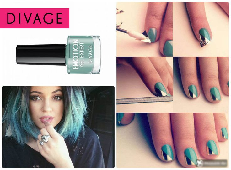 #divage #nail #mint #trend