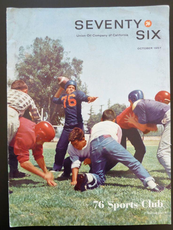 Union Oil Company of California 76 Seventy Six Staff Magazine 1957 Gas Ads USA | eBay