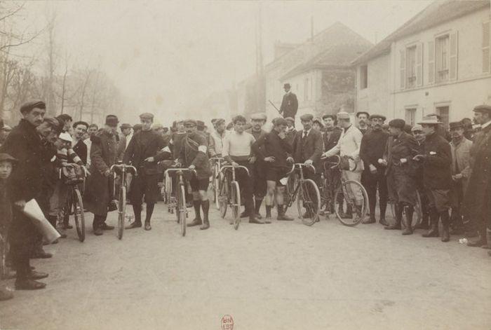 02/04/1899 - Course Paris - Roubaix   Coll. Jules Beau