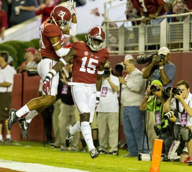 Alabama defense outscored Kentucky offense