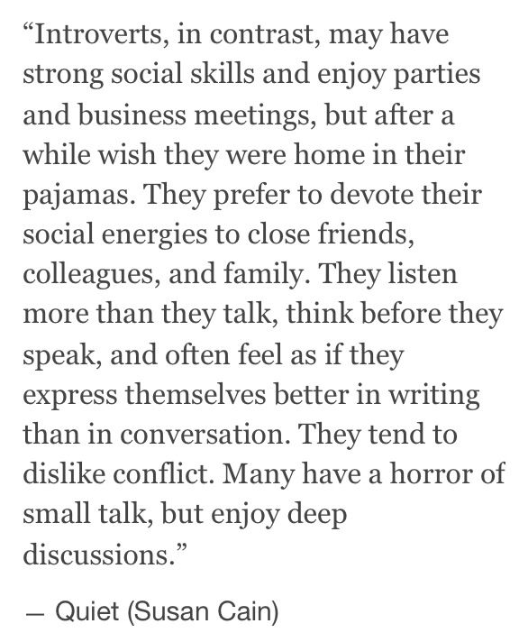 introverts//