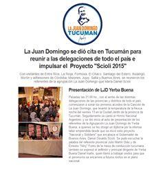 La agrupación La Juan Domingo de todo el país se reunió en #Tucumán
