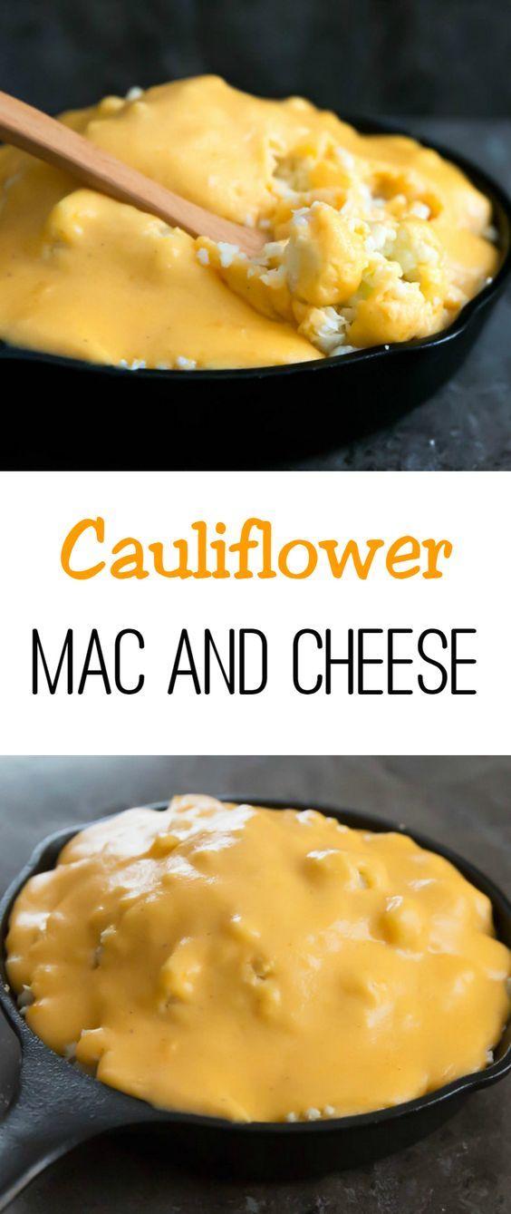 cauliflower mac and cheese cauliflower mac and cheese cheese sauce ...
