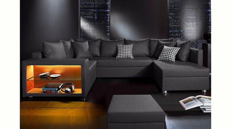Collection AB Wohnlandschaft Wahlweise Mit LED RGB Beleuchtung Jetzt Bestellen Unter Moebelladendirektde Wohnzimmer Sofas Wohnlandschaften Uid