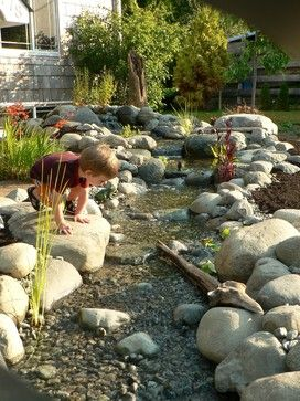 Landscaping A Dry River Bed Design, Pictures, Remodel, Decor and Ideas - page 6