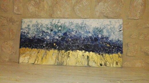 N. 14 :-) #abstract #fluid #art #paint #slash #acrylic