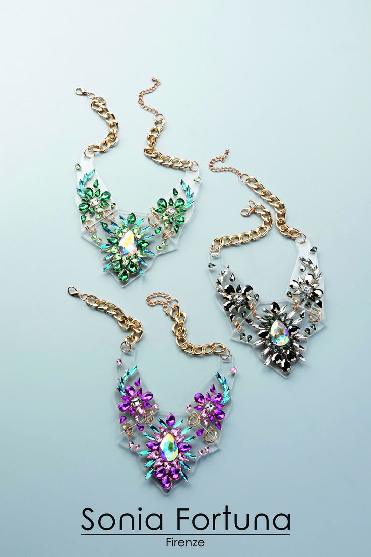 Accessory  Necklace Colorful Sonia Fortuna Spring Summer Collection 2015
