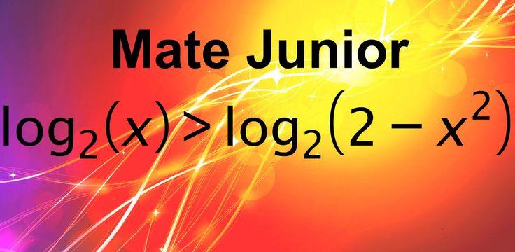Como resolver Inecuaciones logaritmicas