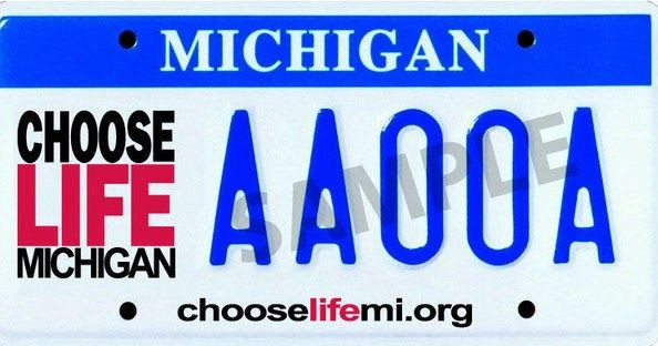 Right to Life of Michigan is Disappointed Governor Snyder Vetoed the Choose Life Plate bill