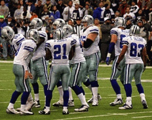 Watch the Dallas Cowboys play in Dallas Cowboy Stadium!...priceless feeling