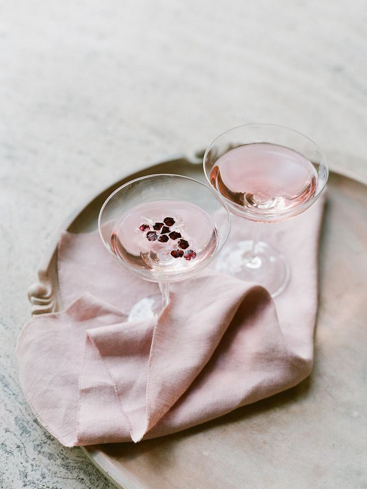 pretty pink cocktail