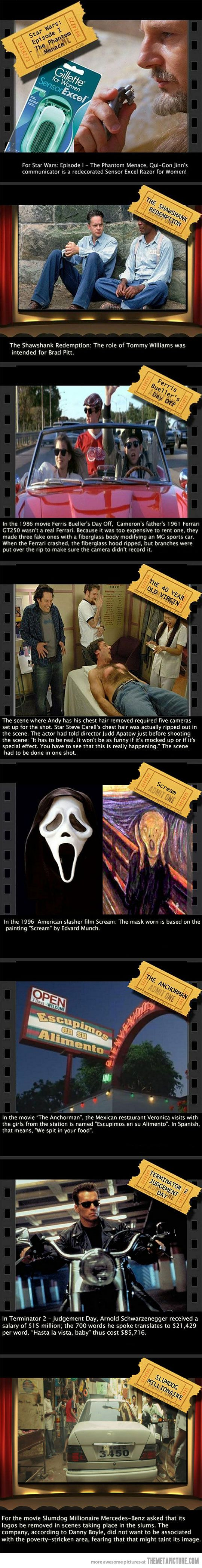 Fun Movie Facts