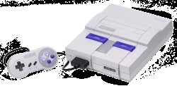 Snes! My Mom Introduced Me To My Video Game Addiction Via This Baby & Super Mario World+Some Barbie Games I'm Not Going To Mention ;]