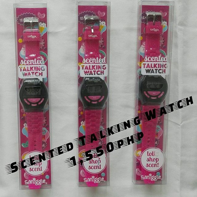 1,550php  Scented Talking Watch 🎄Super Mega Christmas Sale🎄  Get yours now! Few stocks left! 📲Viber:09959608797 📥DM: @smiggle_sale_ph 🌐FB: Lozada Ann (Smiggle Collections Manila) #smigglecollectionsmanila #smigglesaleph