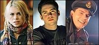 Companions to the Ninth Doctor:  Rose Tyler, Adam Mitchell (who turned out to be very self-serving, proving that not everyone is suited to be a companion), and Captain Jack Harkness