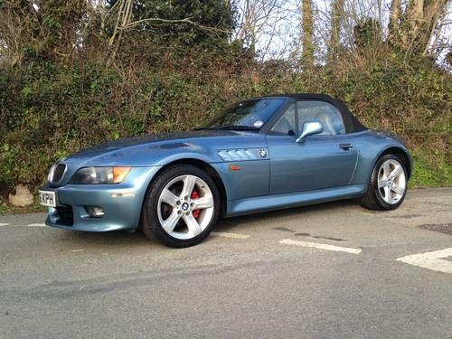 Bmw Z3 2 8 Widebody Auto Atlanta Blue For Sale 1998 My