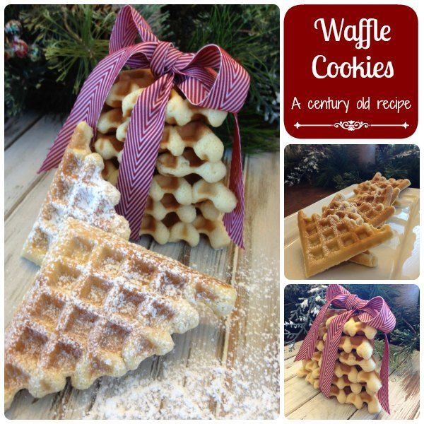 Waffle Cookies!!  Omg these are easy and amazing too!  Try them!  Pin this for later!!  #PinOfTheDay