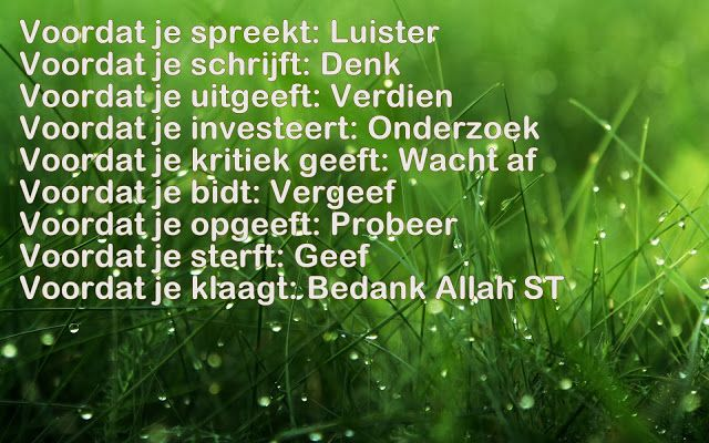 Citaten Filosofie Quran : Best nederlandse quotes islam images on pinterest
