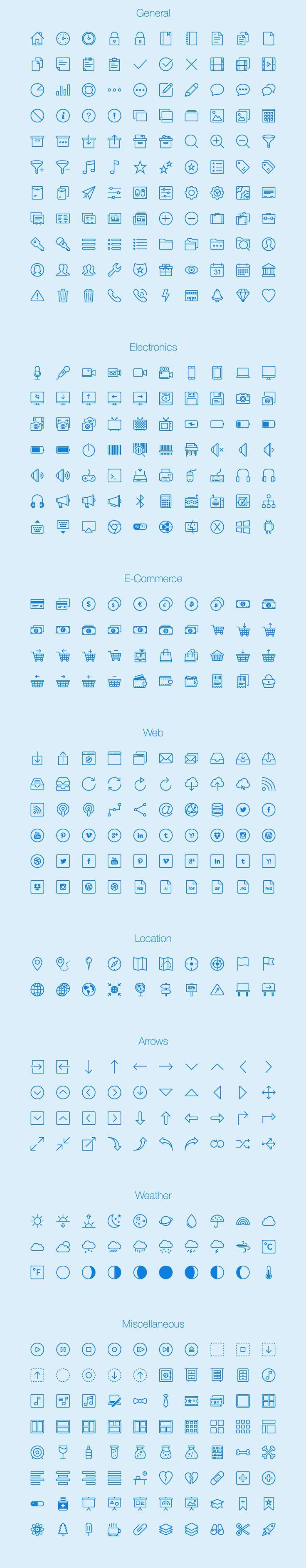450-free-thin-icons