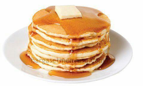 resepi pancake dan sos