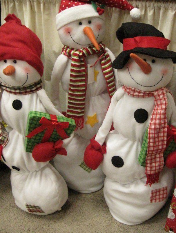 Squishy Squashy Snowman