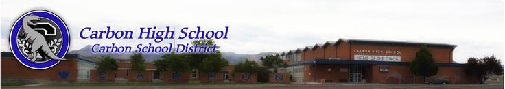 my high school Carbon High school
