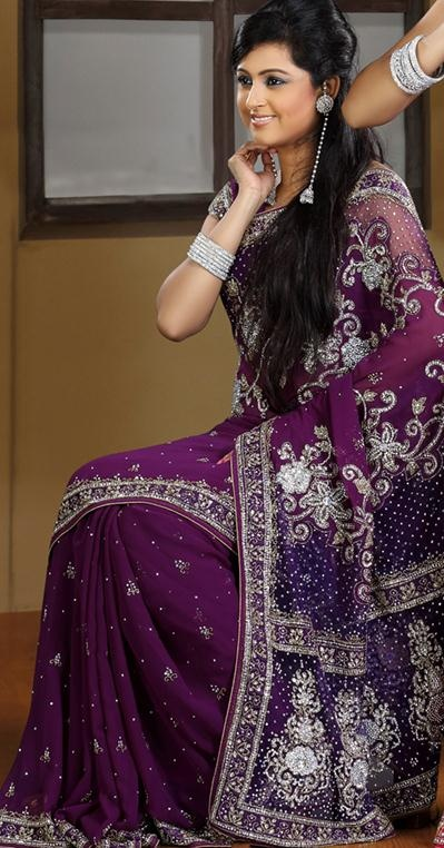 Pin By Indian Cloth Store On Faux Georgette Saree Pinterest