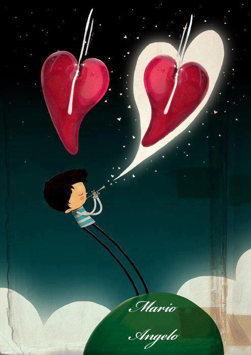 #fairytale #paramuthi #red #heart #kardies #skoularikia #earrings #moon #stars #love