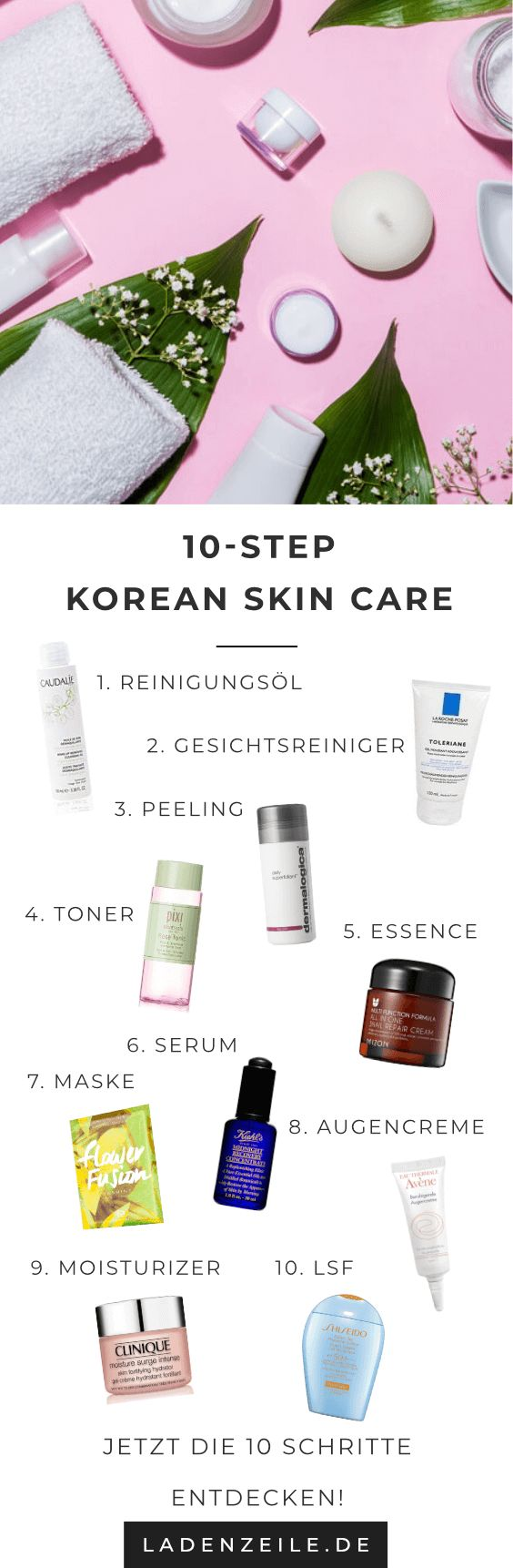 So geht die 10 Step Korean Skin Care Routine