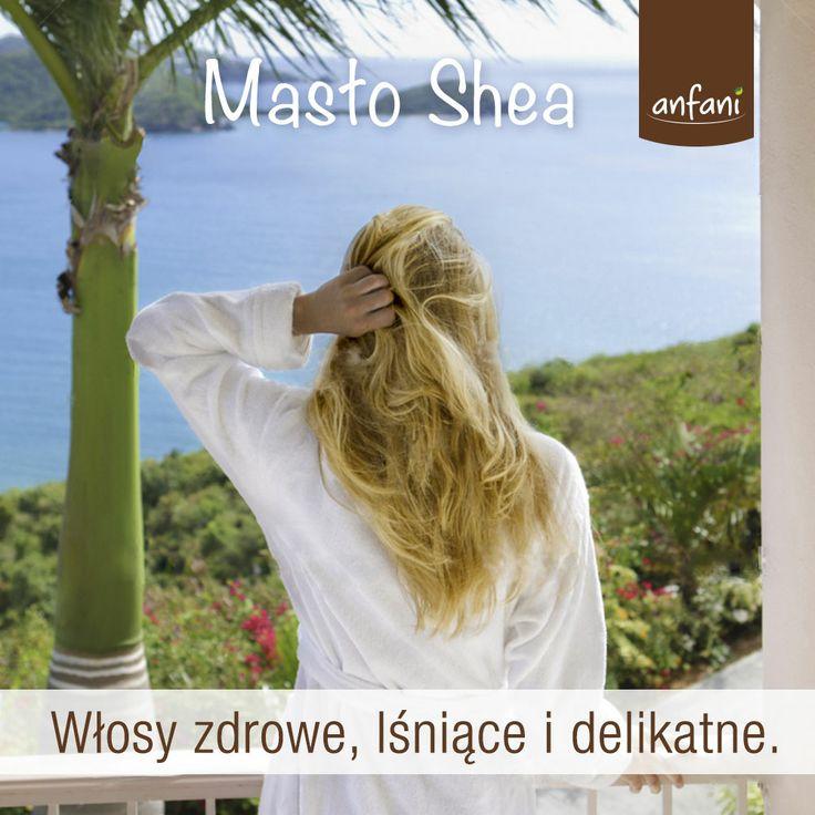 Anfani Masło Shea idealne jako maska na włosy! :) www.masloshea.org #maslo_shea #maslo_karite #maslo_shea_nierafinowane #maslo_shea_na_twarz