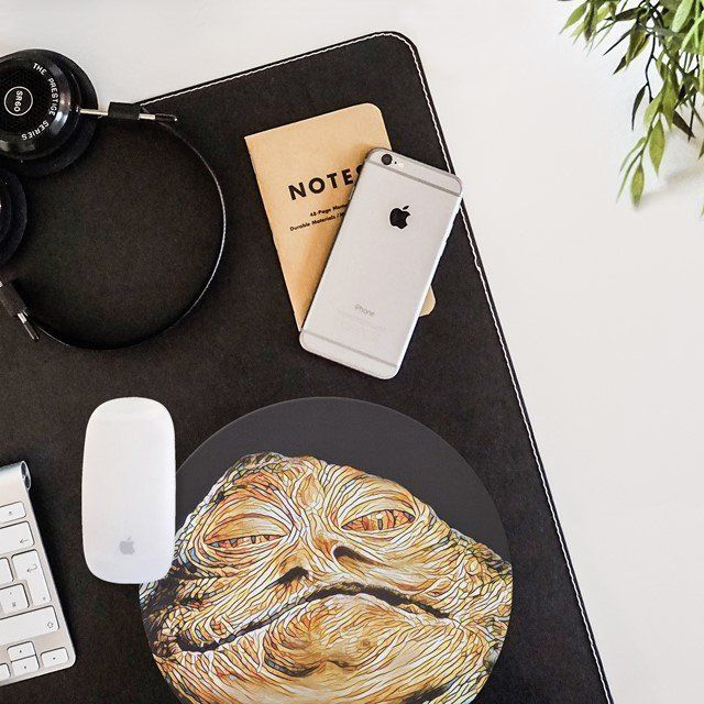 Fancy - Jabba The Hutt Mouse Pad
