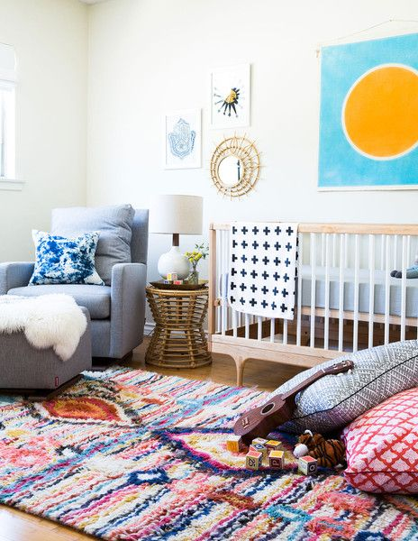 A cool, colorful California style nursery