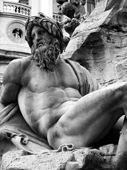 best gianlorenzo bernini images baroque detail of ganges fountain of the four rivers rome gian lorenzo bernini
