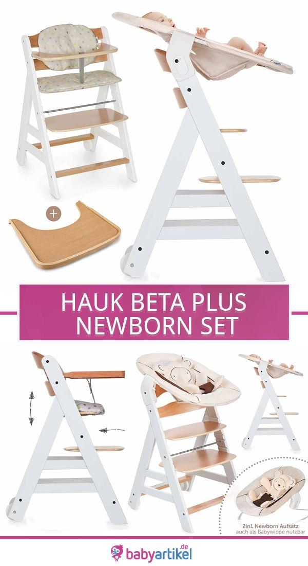 Hauck Beta Plus Newborn Set Hochstuhl