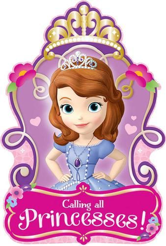 Disney Sofia the First Invitations (8)