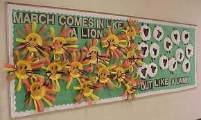 march bulletin board ideas - Google Search