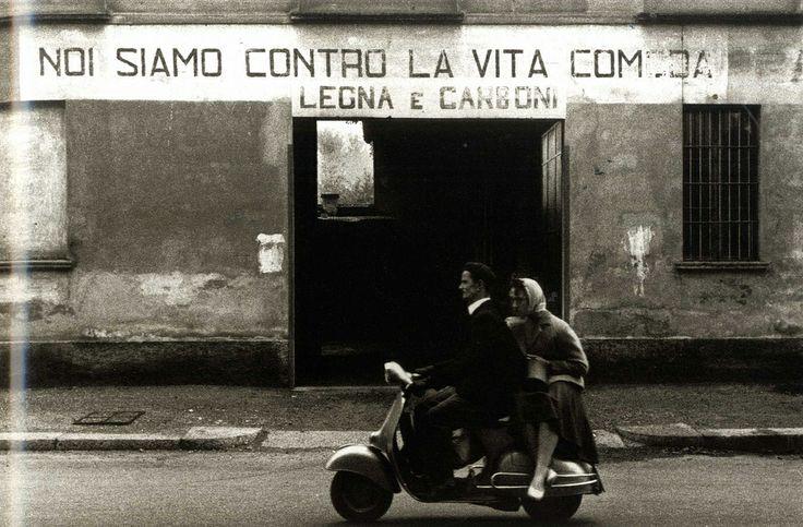 photo: Gianni Berengo Gardin | 1960 Milano