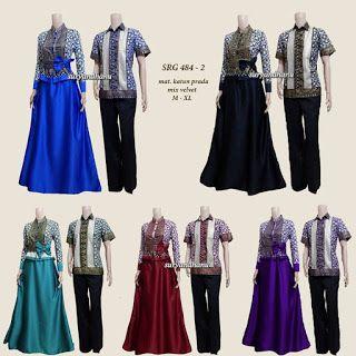 *restock (SRG 484-2)*  Couple long dress  Mat : katun prada