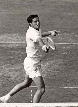 Australian Roy Emerson.  #tennis