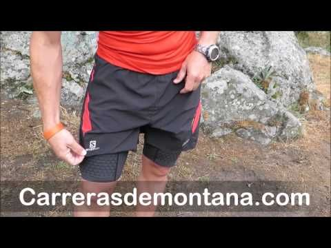 Salomon Trail Running Camiseta y pantalón SLab Prueba 400km por Isma Muñoz para Carrerasdemontana co - YouTube