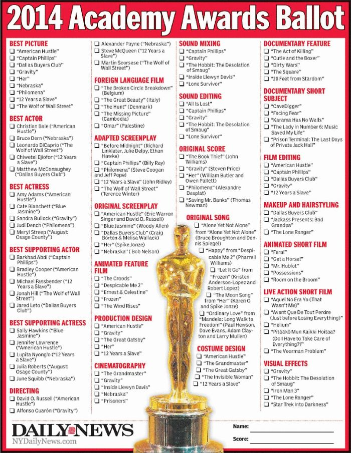 145 best The 2014 Oscars - 86th Academy Awards / Oscar 2014 images ...